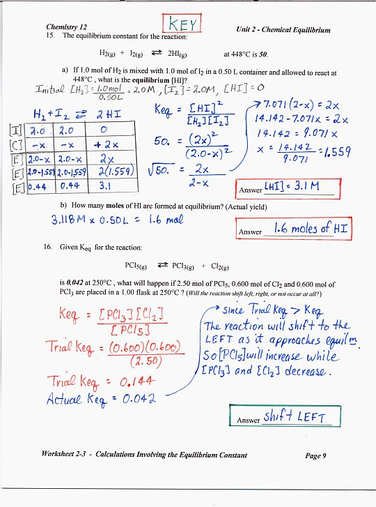 equilibrium ms beaucage rh msbeaucage weebly com chemistry note taking guide episode 901